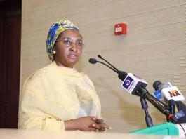 Nigeria Minister of Finance, Zainab Ahmed recession values imf