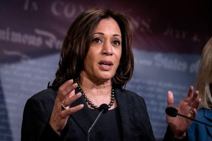 Senator Kamala Harris is big on criminal justice