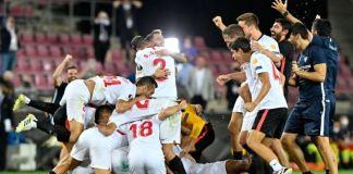 Sevilla have won a record sixth Europa League title