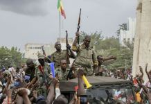 The leaders of a military coup in Mali says they will set up a transitional government ahead of new elections