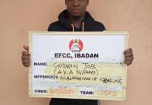 Godwin Job (a.k.a Nifemi) arraigned for stealing