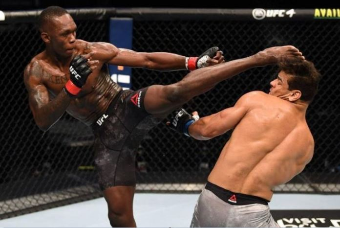 Israel Adesanya aka Stylebender made quick work of highly rated Costa