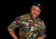 Fake Nigerian army lieutenant arrested by the EFCC