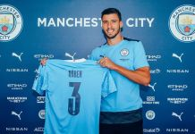 Ruben Dias joins Man City