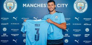 Ruben Dias joins Man City