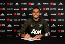 Alex Telles signed a four year deal at Manchester United