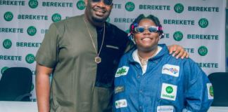 Don Jazzy and Teni Da Entertainer were two of the new ambassadors unveiled by Globacom