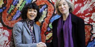 Emmanuelle Charpentier (L) and Jennifer Doudna began a formidable partnership in 2011 Nobel prize in chemistry