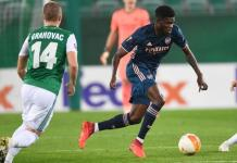 Thomas Partey started his first game since joining Arsenal on deadline day