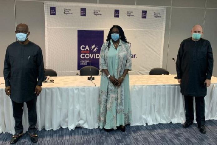 CA-COVID was formed to support the Nigerian government