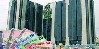 Central Bank of Nigeria CBN logo naira dollar
