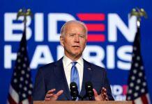 Vice President Joe Biden has predicted victory over Donald Trump