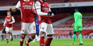 Arsenal ended a nine-game winless streak against Chelsea at the Emirates Stadium