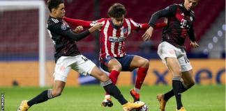 Joao Felix was superb for Atletico and scored his eighth goal of the season