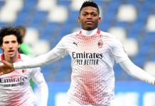 Rafael Leao's record-breaking moment was his third Serie A goal for AC Milan this season