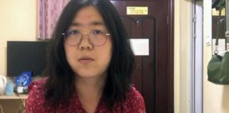 zhang zhan jailed by chinese authorities