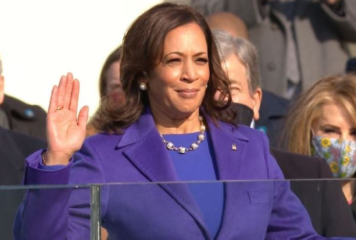 Kamala Harris is the first woman, first Black person and first South Asian to hold the office of US vice president