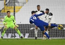 Mason Mount's strike was Chelsea's 800th away goal in the Premier League