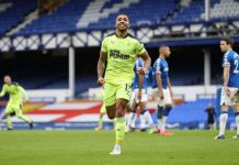 Newcastle's Callum Wilson scored twice against Everton to end winless run
