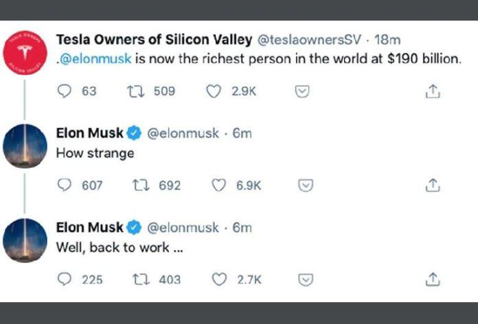 Twitter Elon Musk Tesla