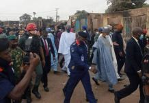 Seyi Makinde and other Northern governors visit shasha