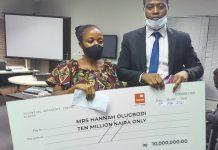 Mrs. Olugbodi and her lawyer, Akeem Fadun lagos
