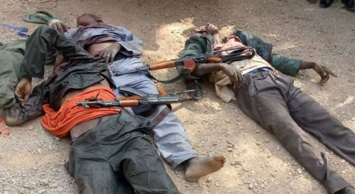 Some bandits killed by Nigerian troops