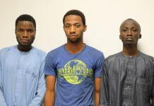 Internet fraudsters arrested by EFCC