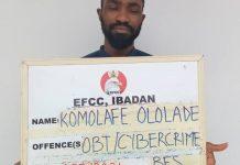 Komolafe Ololade Olajide fraudster
