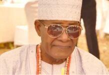 Oba Tajudeen Omotayo, the traditional ruler of Imope town