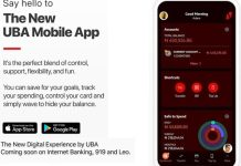 The new UBA mobile app