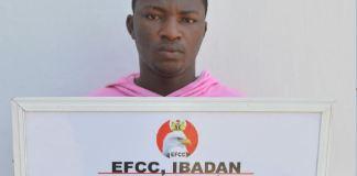 Ayomide Samuel Adebowale, a bitcoin dealer arrested for cyber crimes
