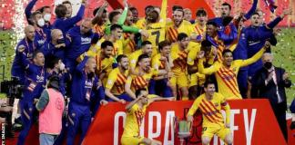 Barcelona won the Copa del Rey for a record-extending 31st time