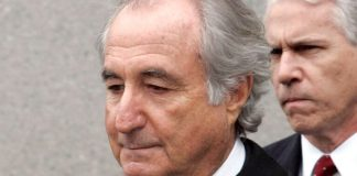 Ponzi Mastermind Bernie Madoff has died in Prison at the age of 82