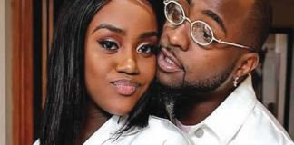 Chioma deletes all of Davido's pictures