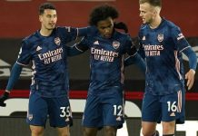 Martinelli scores as Arsenal thrash Sheffield