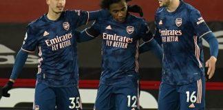 Martinelli scores as Arsenal thrash Sheffield