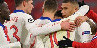 Mbappe scores twice as PSG edge past Bayern