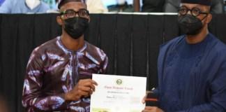 Ogun governor gives N2m to LASU best graduating student