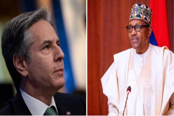 US Secretary of State, Anthony Blinken will meet President Muhammadu Buhari virtually over the issue of insecurity in Nigeria
