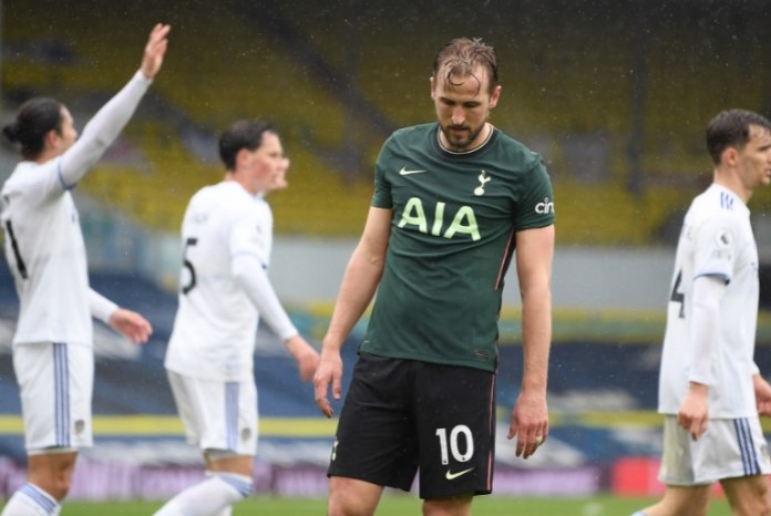 Leeds thrash Tottenham 3-1