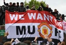 Manchester United v Liverpool game postponed after fan protest