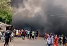 Two dead following an explosion within Obasanjo library