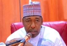 Borno state Governor, Professor Babagana Zulum