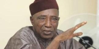 Federal Minister of Agriculture, Alhaji Sabo Nanono