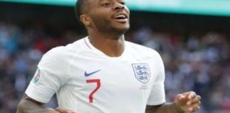 Raheem Sterling scores as England beats Germany