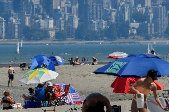 Western Canada and the US Pacific north-west have seen days of baking temperatures