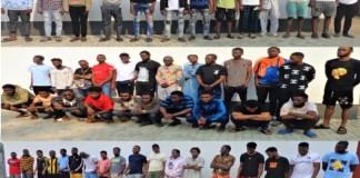 55 internet fraudsters arrested by EFCC