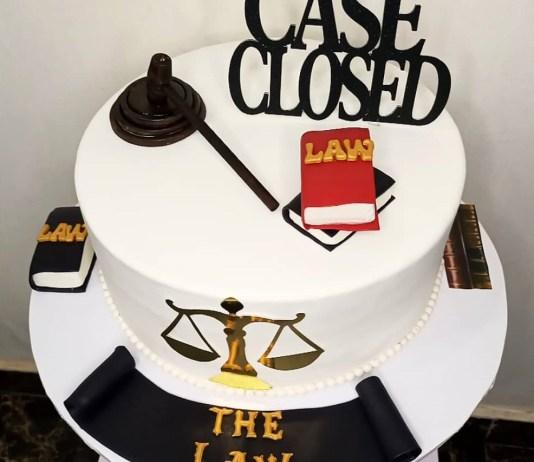 Bims Savoury Gourmet Case Closed cake