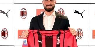 Olivier Giroud joins AC Milan